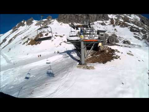 Wintersport Riezlern Kleinwalsertal 2015