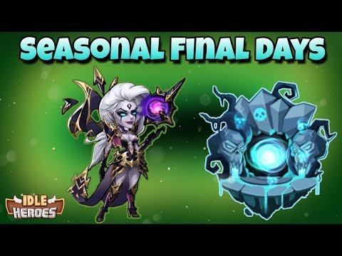 Idle Heroes (S) - Final Days, Can I Not Suck? - Horrible Artifact RNG