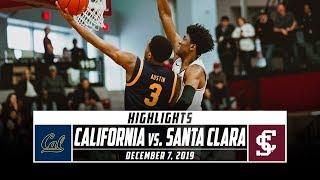 California vs. Santa Clara Basketball Highlights (2019-20) | Stadium