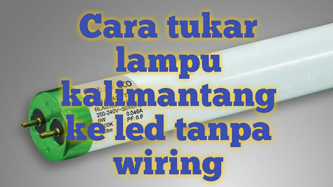 Wiring Lampu