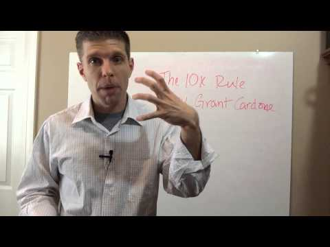 the-10x-rule:-the-difference-between-success-and-failure-by-grant-cardone