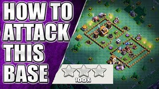 3 Star Attack Strategy for BH5 Most Popular base || Clash of Clans || Builder base