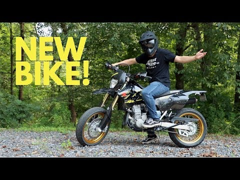 New bike! DR-Z400SM | First Motovlog!