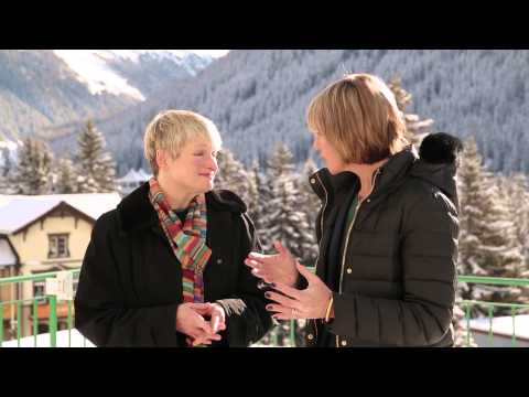 WEF Davos 2015 Hub Culture Interview with Rita Gunther McGrath