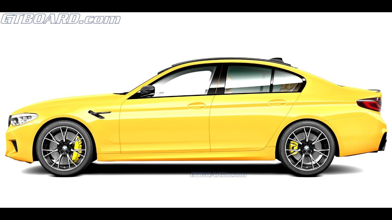 Individual Colours Of The Bmw M5 Competition F90 Bmw Individual Manufaktur 4k Youtube