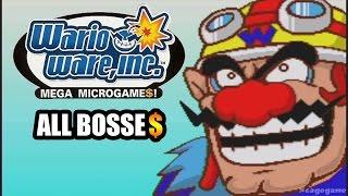 WarioWare, Inc. Mega Microgame$! All Bosses