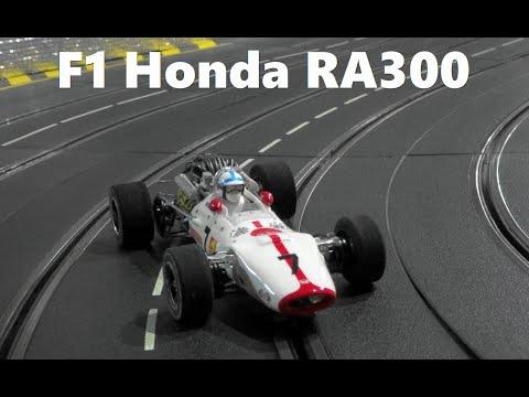 Slot Car  Honda F1 RA300 No7 1967 in Carrera Slot Car Race Track  スロットカー  ホンダF1 RA300 (1/24Scale)