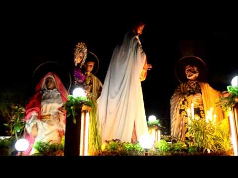 The Holy Wednesday Procession,Baliwag Bulacan ,2016
