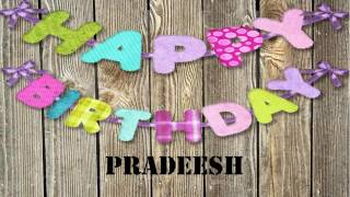 Pradeesh Birthday    Wishes