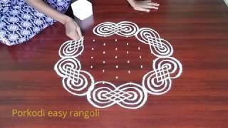 Margazhi special kolam//pongal special rangoli//sankarathiri muggulu//rangavalli