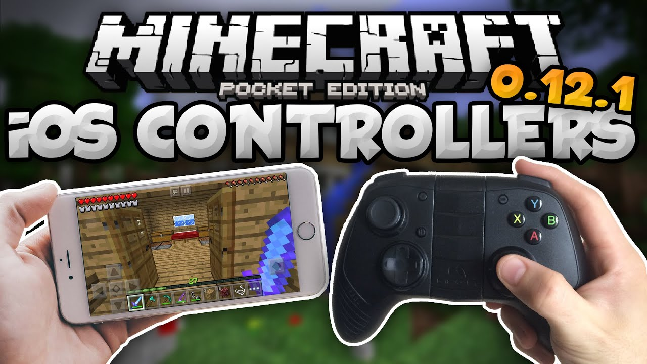 How To Play MCPE W A Wireless Controller For IOS IPad IPhone - Minecraft spiele pocket edition