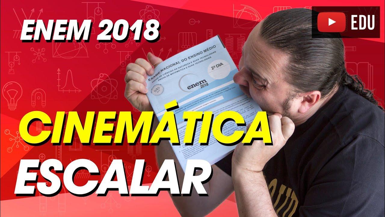 972ddc4a6 Velocidade | frequência | MU | Comentário Física ENEM 2018 questão 107  prova Cinza