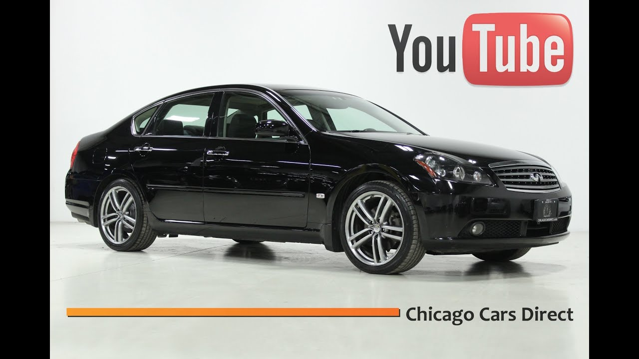 Chicago Cars Direct Presents A 2007 Infiniti M35 Sport Black Obsidian Graphite 307480