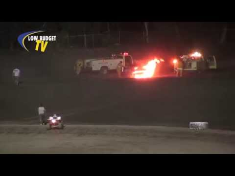 Hobby Stock FIRE at Kings Speedway 5-25-14