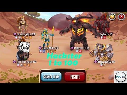 Monster Legend | Hackster Level 1 to 100 Skills + Combat!