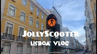 [Lisbon vlog✨] Jollyscooter wa…