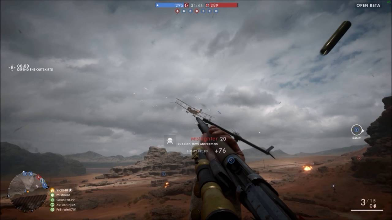 Why you should shoot at planes | Battlefield 1|