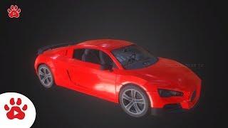 Cyberpunk Civillian Sesert Sprinter ChevroletCamaro | Super Cars for Kids | #h Colour Song for Kids