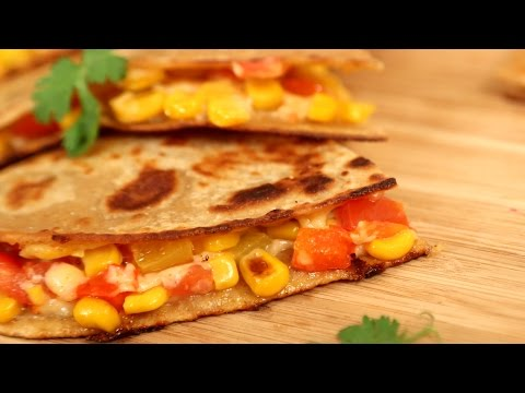 How To Make Vegetable Quesadillas Recipe