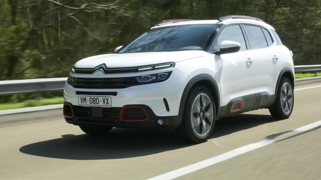 Neuer Citroën C5 Aircross SUV Automatikgetriebe EAT8 ...