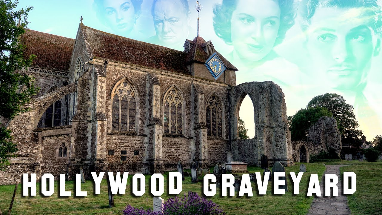 FAMOUS GRAVE TOUR - England #1 (Shakespeare, Laurence Olivier, etc.)