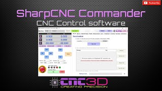 SharpCNC Commander GRBL control software has been released!