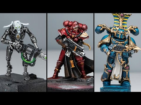 3 Battle Ready Paint Plans - MASSIVE Charity Army 100k Subscriber Event!