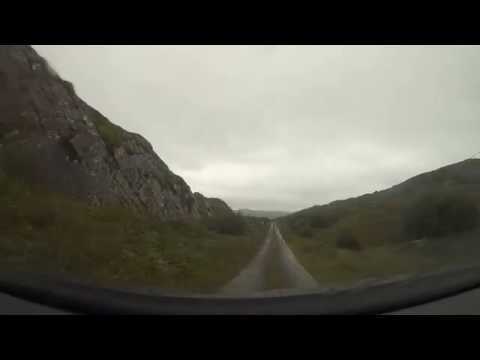 Car drive through Ireland - Part 4/8: Glengarriff to Kenmare via Ring of Beare