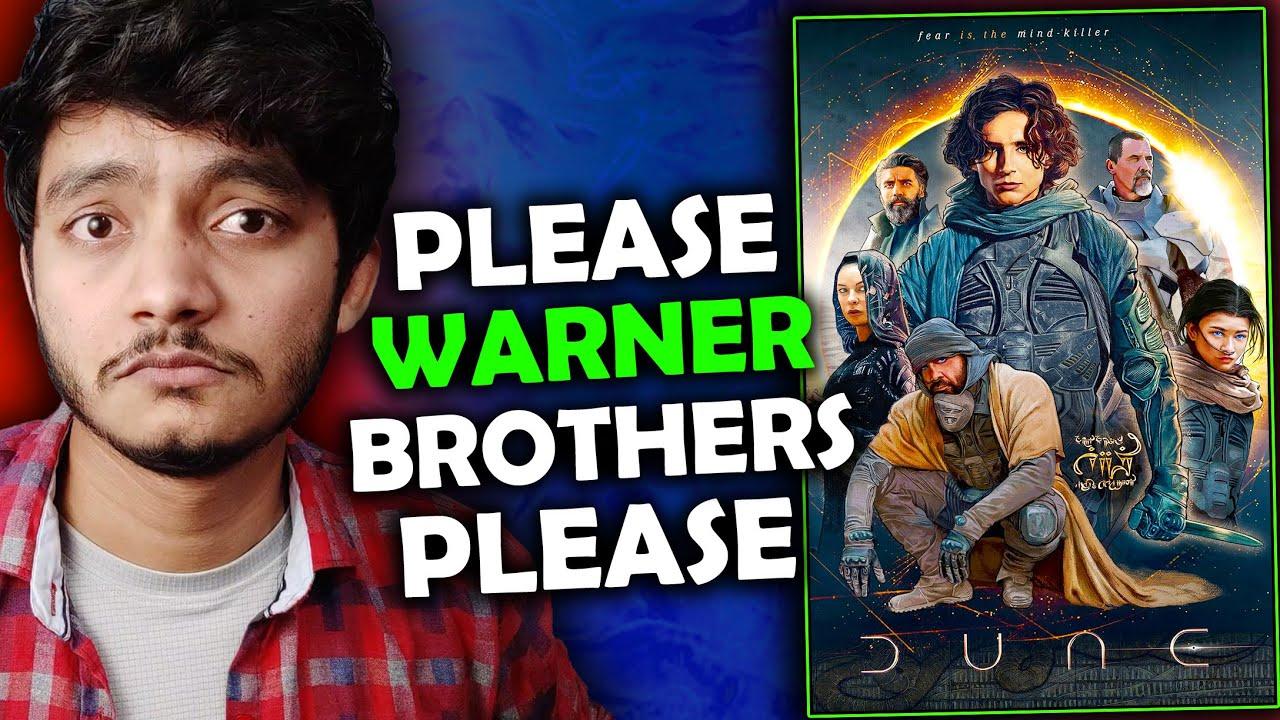 Warner Brothers please is movie me apni taang mat dalna 🙏🥺 Dune trailer  🔥🔥