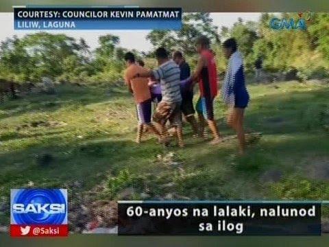 Saksi: 60-anyos na lalaki, nalunod sa ilog sa Laguna
