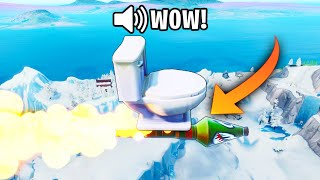*NEW* Rocket TOILET Trick!! - Fortnite Funny WTF Fails and Daily Best Moments Ep. 1384