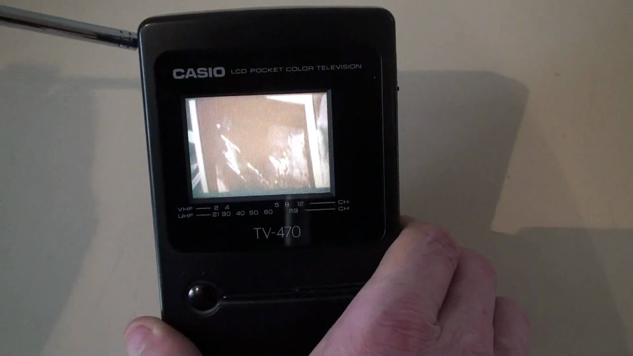 Casio Tv-470 Lcd Pocket Colour Television