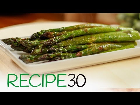 How to cook Healthy Asparagus in One Pan Super Simple