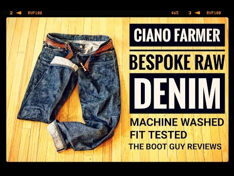 Ciano Farmer SELVAGE DENIM [ The Boot Guy Reviews ] Made In USA