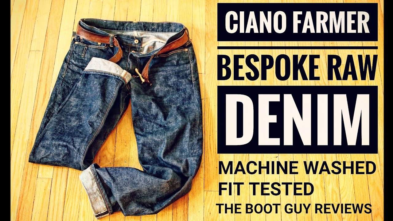 Ciano Farmer Selvage Denim The Boot Guy Reviews Made In Usa