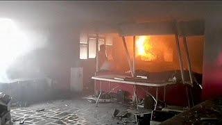 Mexiko: Lehrer brandschatzen Büro der Wahlkommission