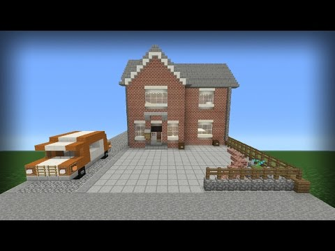 MY REAL LIFE HOUSE IN MINECRAFT