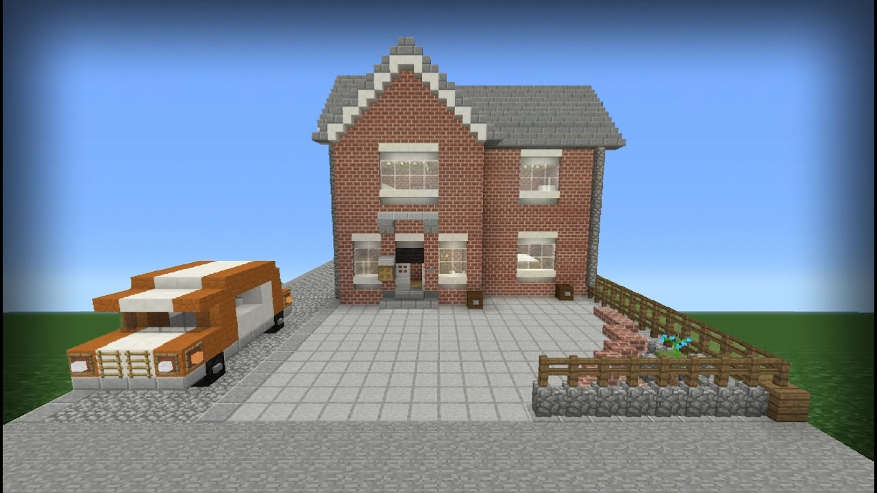 My real life house in minecraft youtube for Make my house