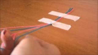 Урок #1. Классическая фенечка* Очень просто и красиво***)Kanal Like!(Для плетения этой фенечки нам понадобится: 4 нити желаемых цветов в данном видео-голубой и розовый, скотч,..., 2014-08-07T13:51:50.000Z)