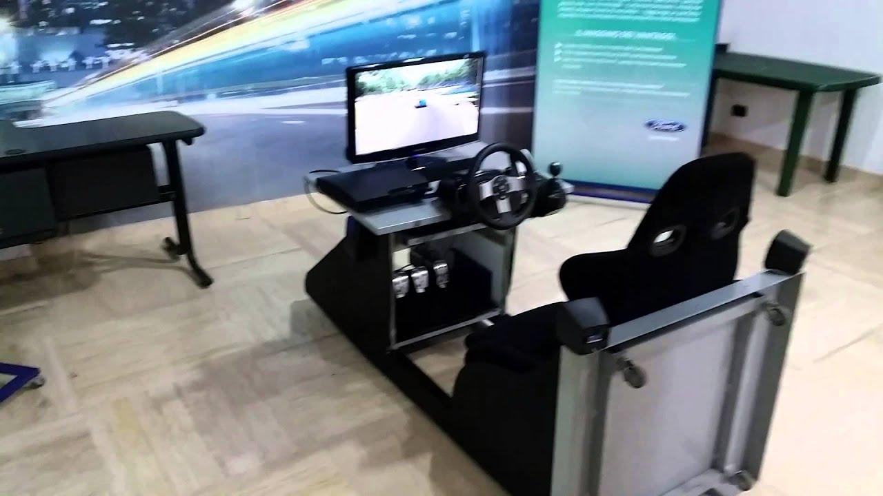 simulatore di guida artigianale fai da te youtube