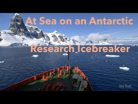 At Sea on an Antarctic Research Icebreaker