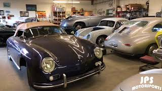 JPS Speedster & Coupe Construction - Factory Tour