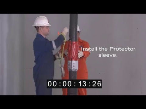 WWT Non-Rotating Protector (NRP) Model SS3 Installation