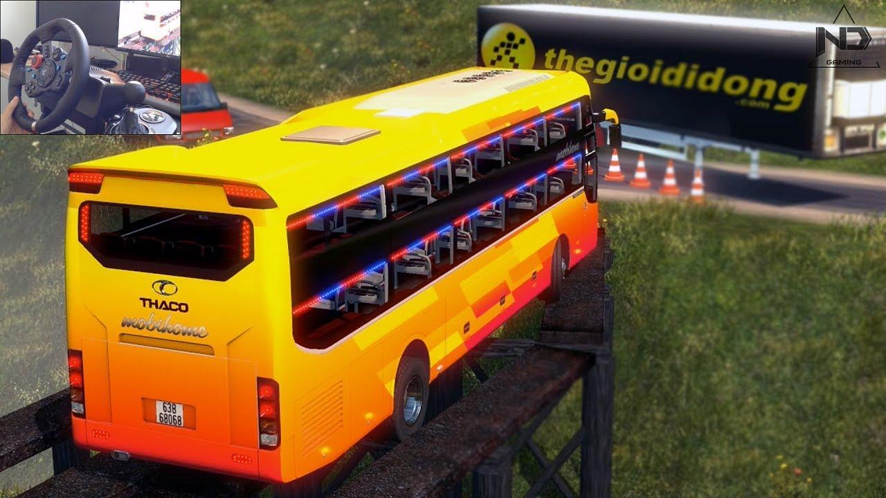 ETS2 – Xe giường nằm đi đường đèo quanh co | ND Gaming