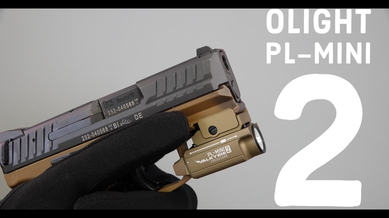 Olight shotshow 2019  The PL-Mini 2 fits any handgun??!! Let's take a look  #shotshow2019