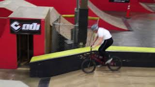 Riding at the Kitchen Quick Clip | A BIG MAN BMX 2/16/17/2018