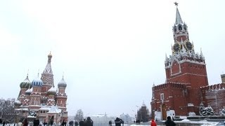 """Real Russia"" ep.27: Red Square in Moscow, Russia (February, 2013)"