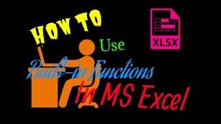 Built-in Functions in Microsoft Excel : Excel Tips and Tricks [Urdu / Hindi]