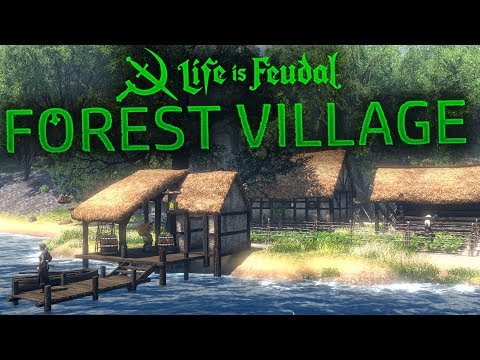 Life Is Feudal: Forest Village - Welcome to Draetopia - A Better Banished? - Forest Village Gameplay