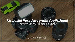 Kit Inicial Para Fotografia Profissional